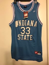 Larry Bird college jersey. New with tags  Tucson, 85747