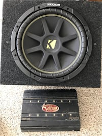 10 inch subwoofer and 600w amp Las Vegas, 89122