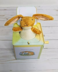 Guess How Much I Love You Nutbrown Hare Musical Jack In The Box Toy Calgary, T3E 6L9