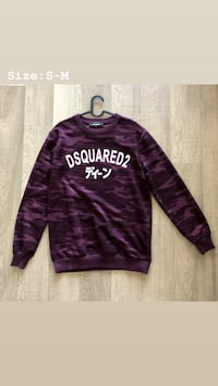 Dsquared camo sweater  Mississauga
