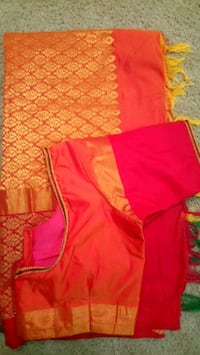 Brand new silk saree with stitched blouse  McLean, 22102