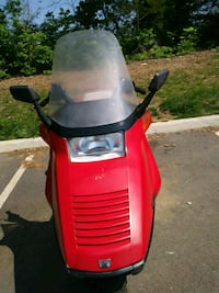 red and black ride on mower Stafford, 22556