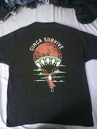 Circa Survive Band Tee Rocklin