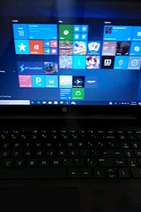 black and gray HP laptop Catonsville, 21228