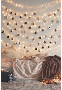 Photo Clip String Lights 17Ft 50 LED Fairy String Lights with 20 Clips