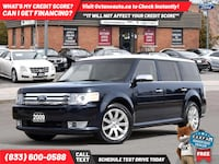 2009 Ford Flex Limited Accident-Free Ontario Vehicle Service Records, Scarborough