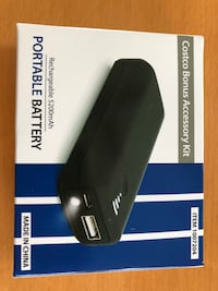 Brand new portable battery charger with light Great Falls, 22066