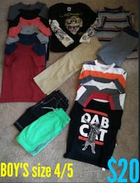 assorted-color clothes lot Indian Trail, 28079