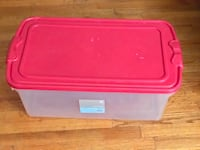 Organising Essentials 64 qt storage box with latch Chicago, 60660