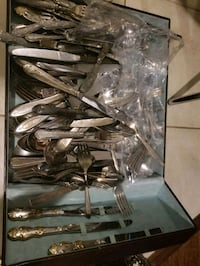 Silver plated lots.