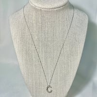 10k White Gold Diamond Pendant with 10k Chain Ashburn