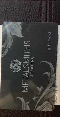 MetalSmiths Jewelry Gift Card