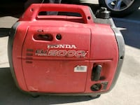 Honda generator high power