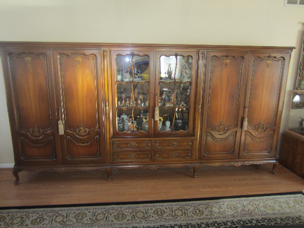 Amazing china cabinet,vitrine display cabinet. Imported from Europe.Exce con West Windsor Township