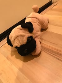 Stuffed animal plush pug
