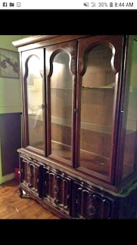 china cabinet with built in lights Gastonia