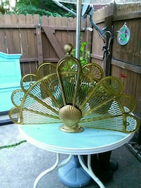 SOLID Brass fire place screen