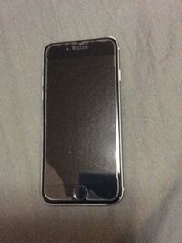 iPhone 6. Unlocked. Comes with glass screen land black phone case null, T1S 3W7