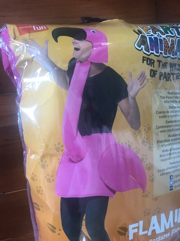 Never used flamingo costume