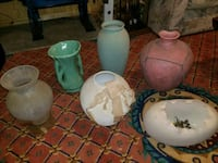 pottery or vases