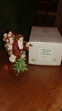 Santa Claus Christmas Legacy Collection figurines Lacombe, 70445