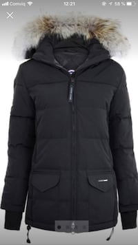 svart zip-up bubblajacka 6630 km