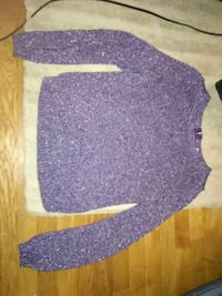 Sparkly purple Divided sweater Rockville, 20852