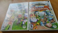 two Nintendo Wii game cases Ville de Québec, G1H 5T3