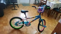 toddler's blue and white bicycle Mississauga, L5C 1H5