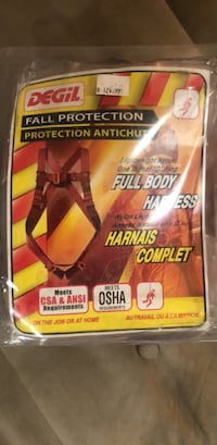 Fall protection full body harness Toronto, M3H 4N1