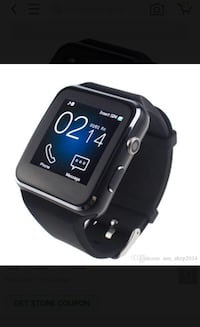 New smart watch works with android and iOS bnib  Toronto, M9L 2H8