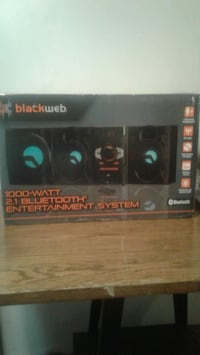 Brand new never been opened stereo system