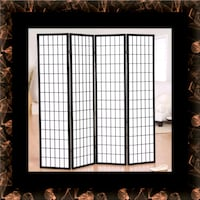 4 panel room divider Ashburn