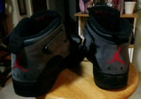 pair of black Air Jordan basketball shoes Boston, 02119