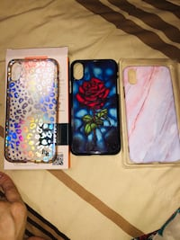 Iphone x/xs cases 3 price negotiable all for $15 Woodbridge, 22192