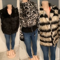 Nice faux fur coat clearance Xmas sale -see all pics