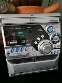 JVC   Stereo, CD & dbl tape deck