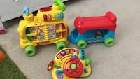toddler's assorted learning toys