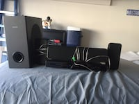 black and gray home theater system Oxnard, 93033