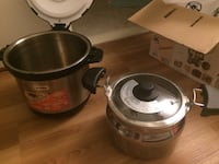 Stainless steel Thermal Cooking Pot