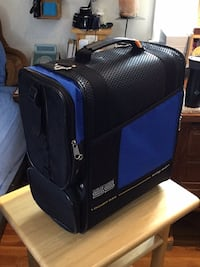 blue and black luggage bag Vienna, 22180