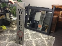 REVERSIBLE Christmas/Halloween signs.4ft tall.Customized orders.Deliv. St Catharines, L2P 3L2