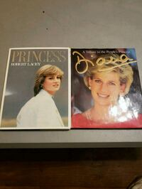 """Books """"Princess"""" and """"Diana"""" St. Catharines, L2T 3C7"""