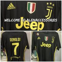 New With Tags Top Quality Ronaldo Jersey Men Size Large  Garland, 75044