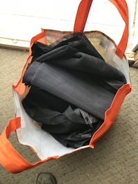 Bag of magnetic door screens