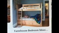 Bunkbed with Trundle and 2 Twin Mattresses Pasadena, 21122