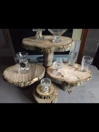 Cake/cupcake stand. rustic.. Reminderville, 44202