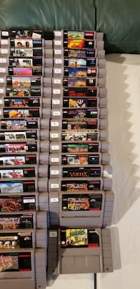 Super Nintendo Games   **Prices in Description** Mississauga