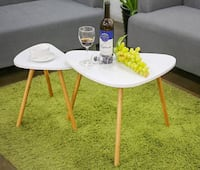 White/Bamboo Coffee Table 3750 km