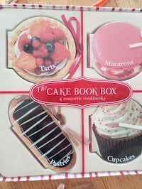 The Cake Book Box 4 Magnetic Cookbooks Harwood Heights